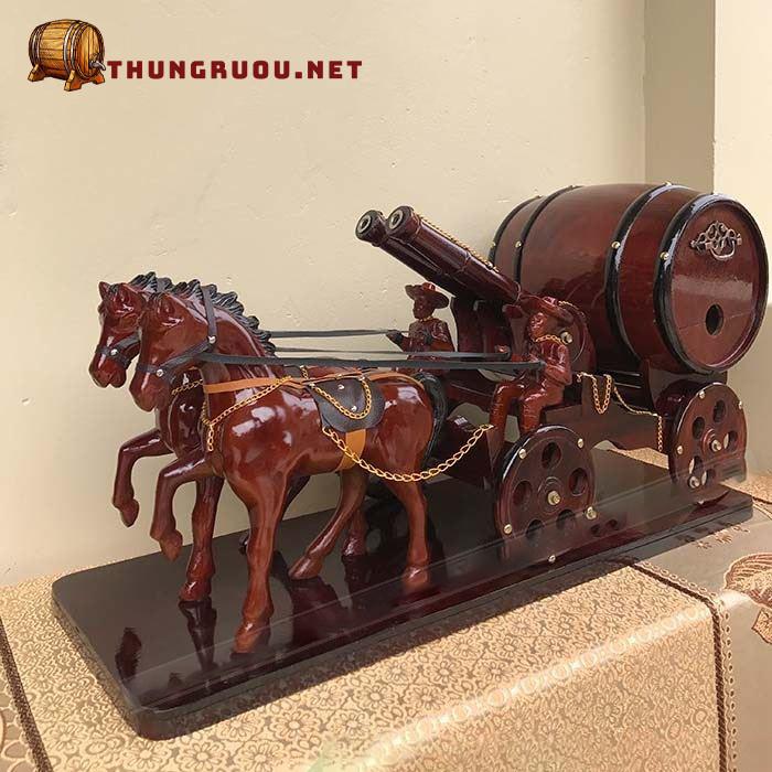 Các loại xe ngựa kéo trống rượu cao cấp