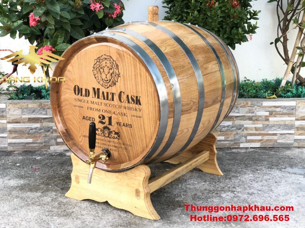 Chọn thùng gỗ sồi cao cấp để ngâm ủ rượu