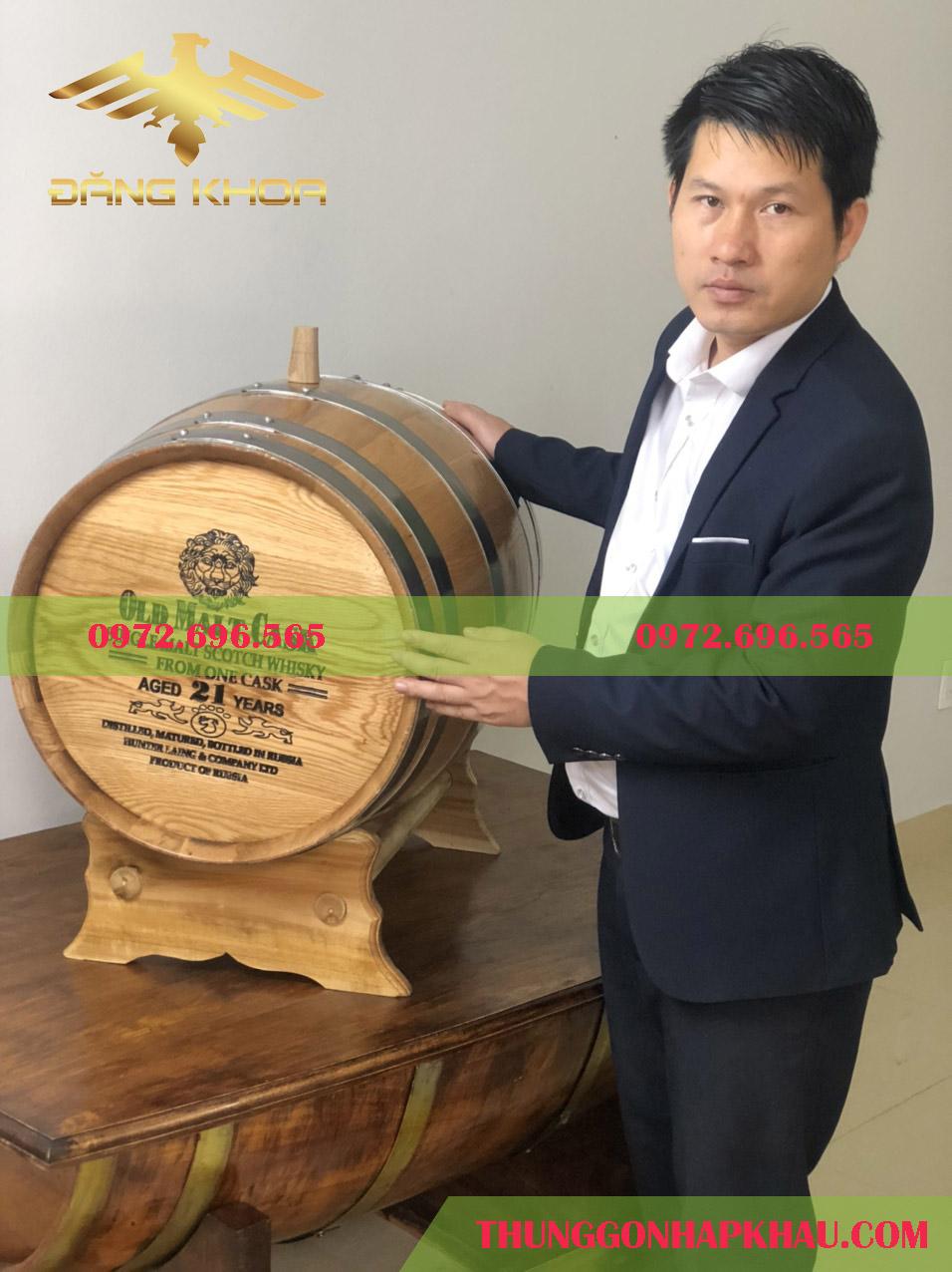 Thùng gỗ sồi ủ rượu loại nào tốt nhất ?