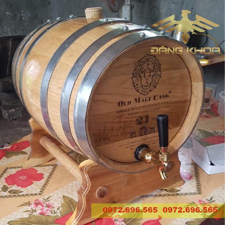 Tác dụng thùng gỗ sồi nhập khẩu