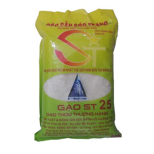 Thông tin gạo ST25